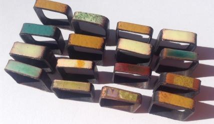 square enamel resin