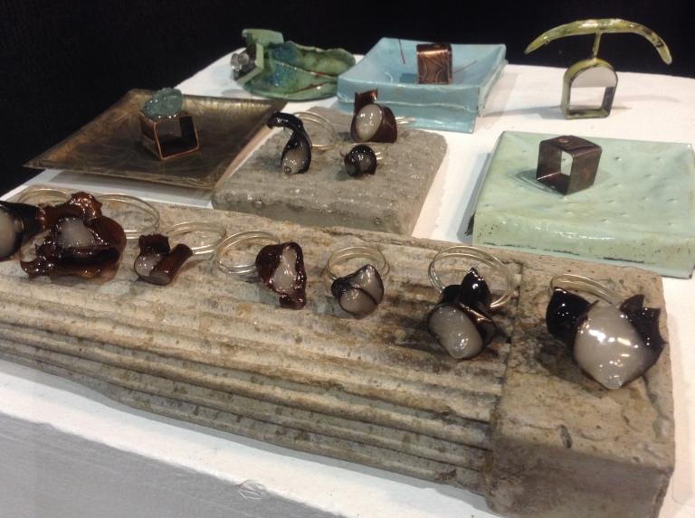 sculpture kelp rings