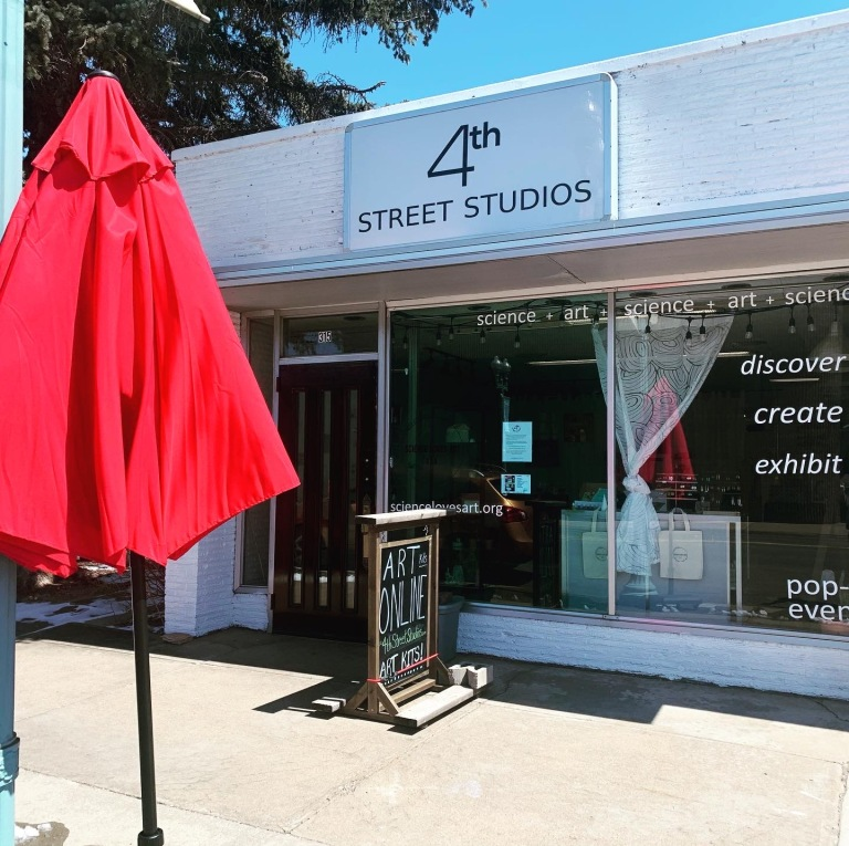 4th st front of studio 2020